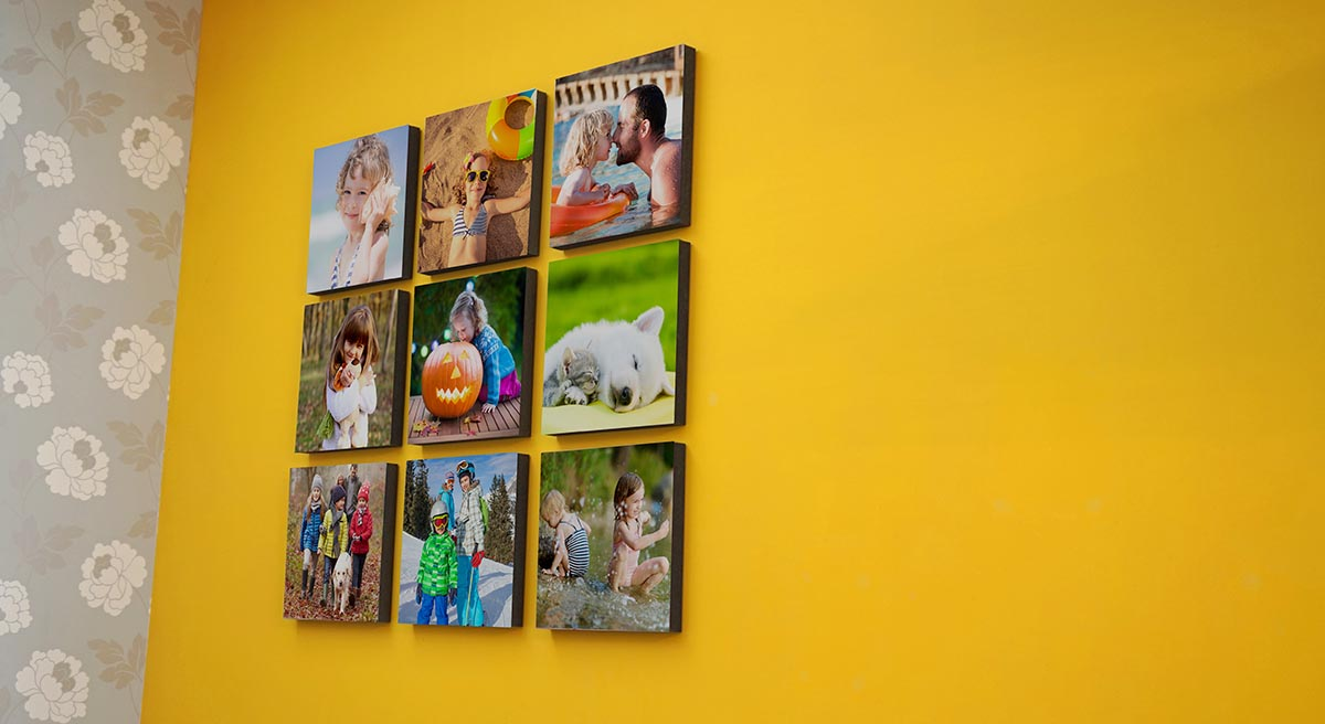 Photo Tiles Canvas Prints Picture Frames Printage